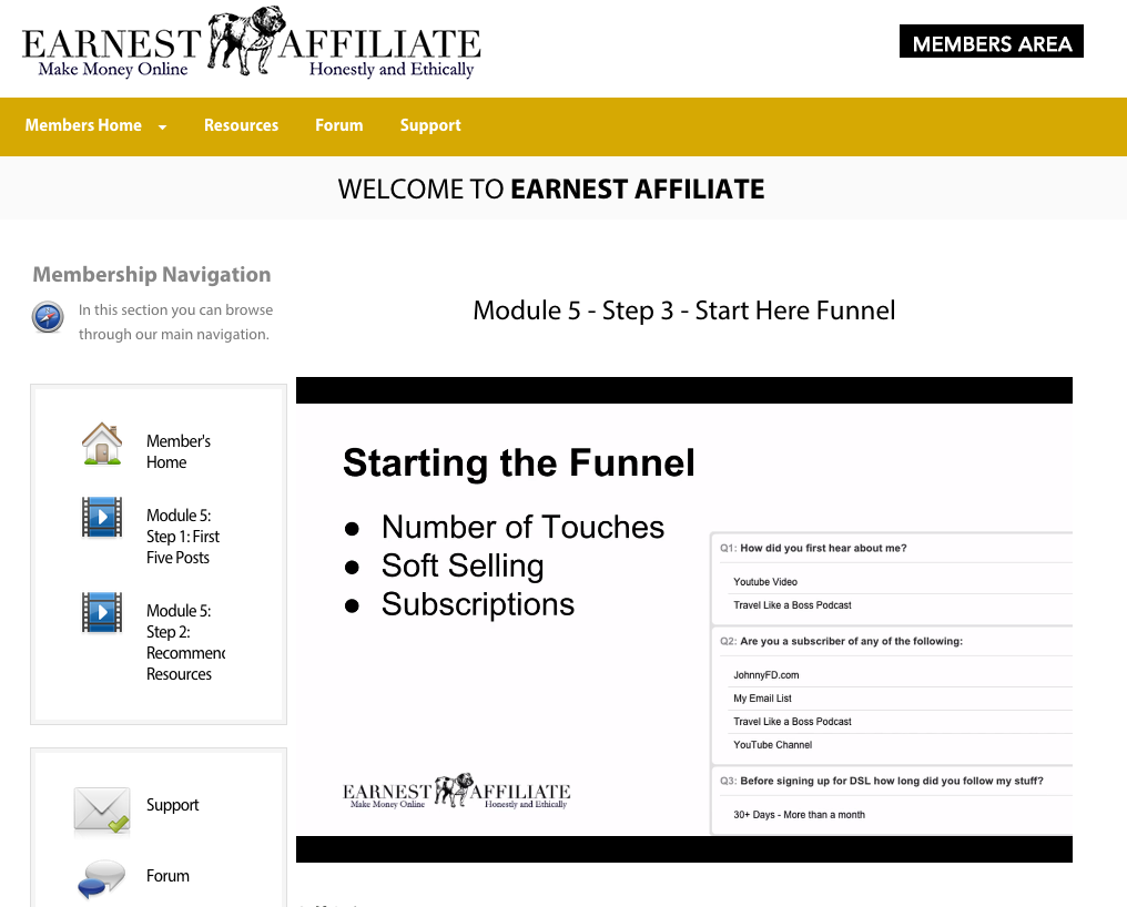 earnest affiliate review 1