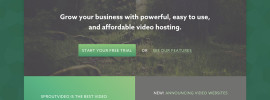 sprout video hosting