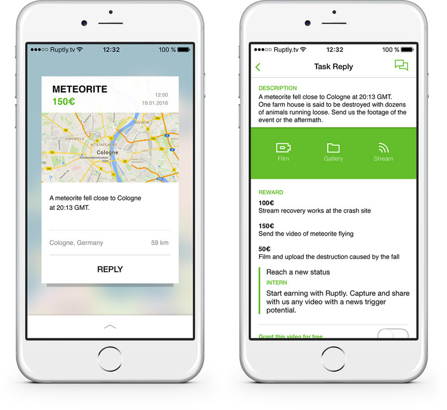ruptly stringer app make money live streaming