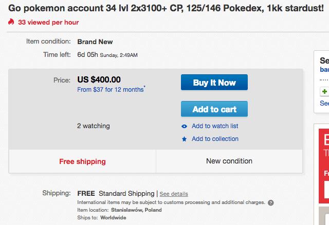 Buy Pokemon Accounts