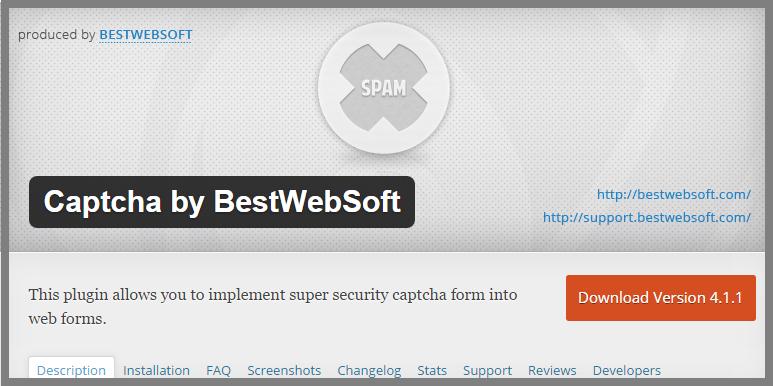Captcha by BestWebSoft
