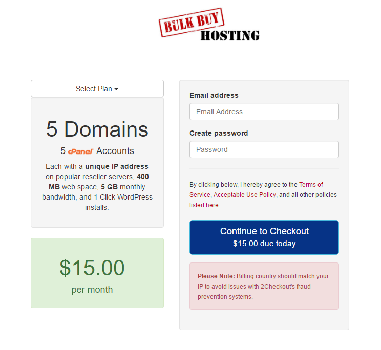 bulk buy hosting review