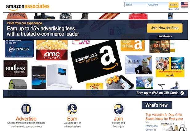 amazon associates affiliate marketing