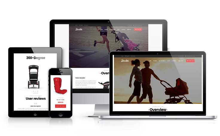ap strollik one product shopify theme