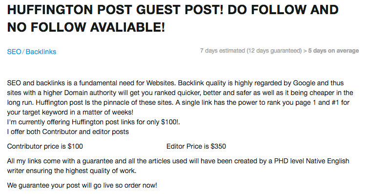 How To Get Featured On Huffington Post