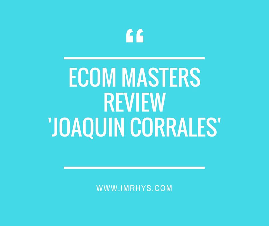 Ecom Masters Review