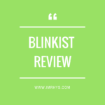 Blinkist Review: Best Mentorbox Alternative For 2018?