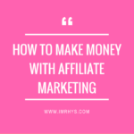 How To Make Money With Affiliate Websites (Real Example)