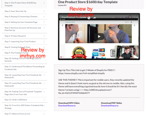 Simplified Shopify Review: Is Scott Hilse's Course Worth It?