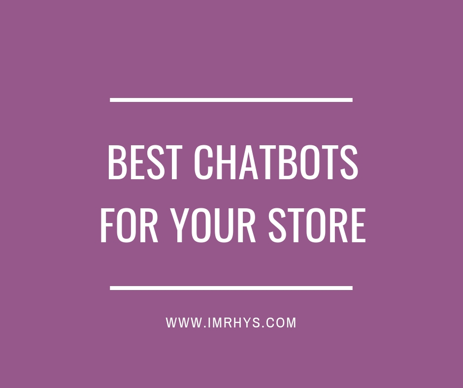 Best Shopify Chatbot Apps 2019 (Checkout Why #4 Is So Powerful)