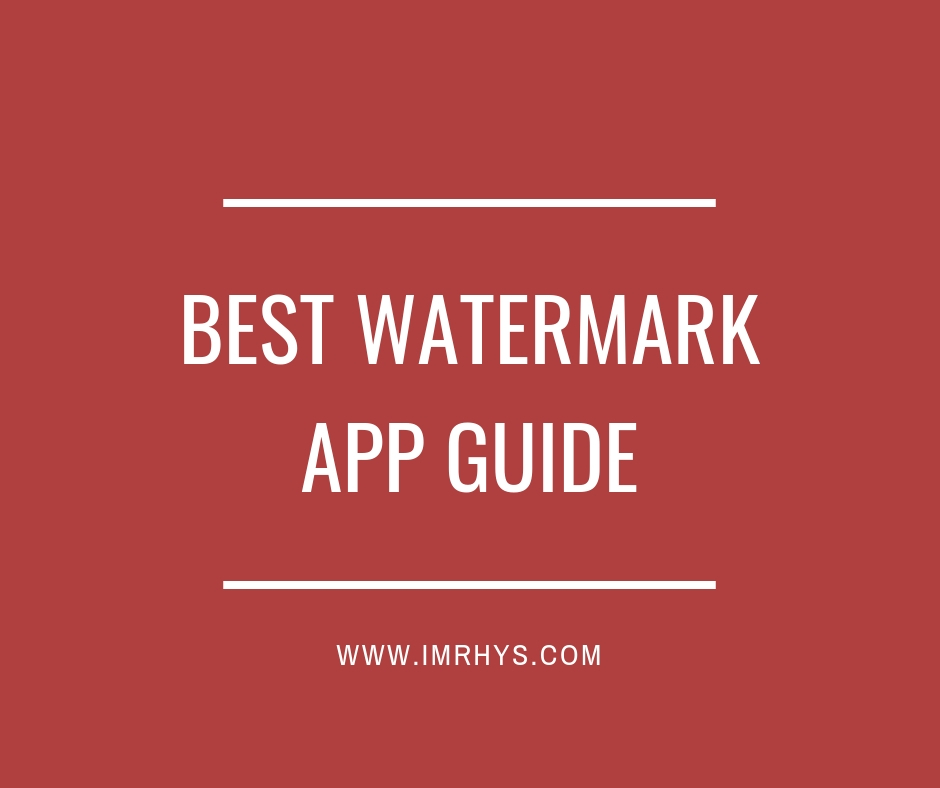 best watermark app