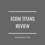 eCom Titans Review: Jonathan Smith 8 Figure Empire Course