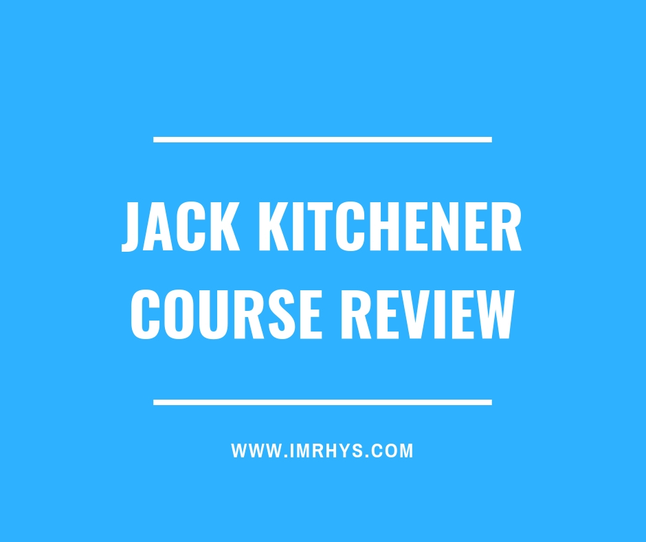 Jack Kitchener Course Review
