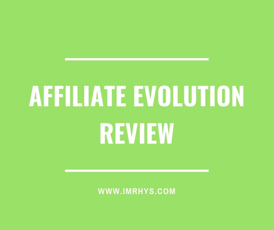 affiliate evolution review