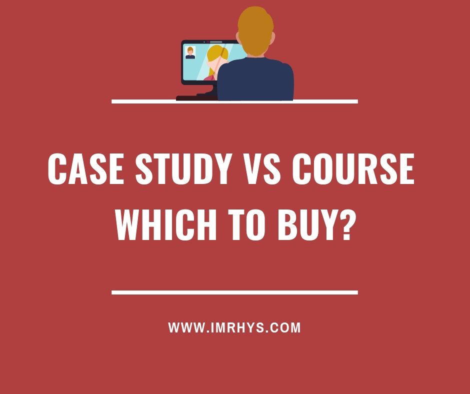 case study vs course which to buy