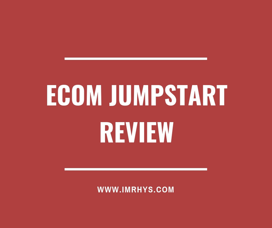 eCom Jumpstart Review: Is 18yr Old Cameron Wallace Legit? [V2 0]