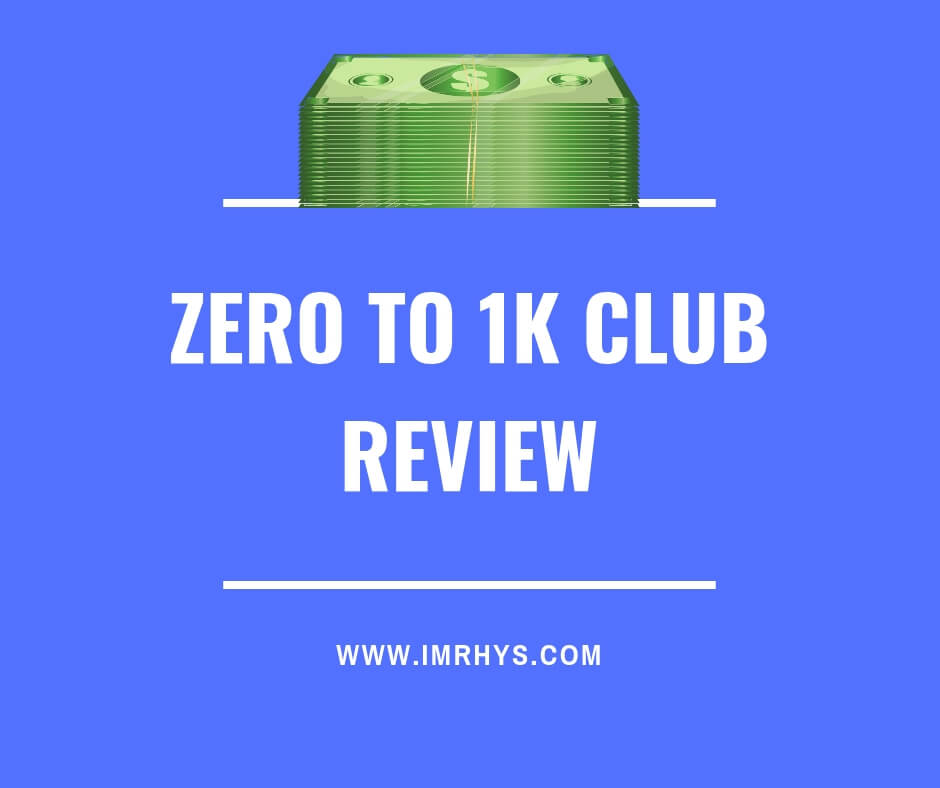 zero to 1k club review