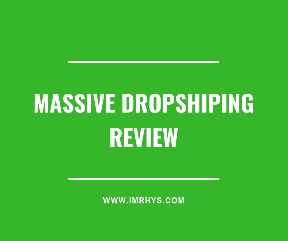 massive dropshipping review