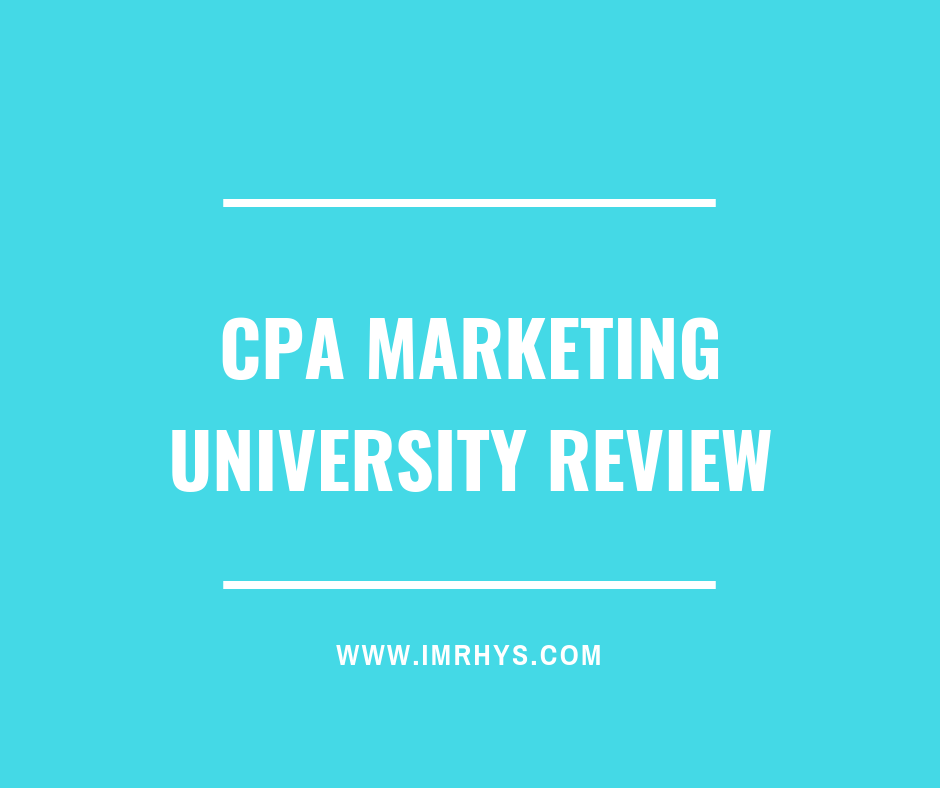 CPA Marketing University Review: Brandon Belcher Course