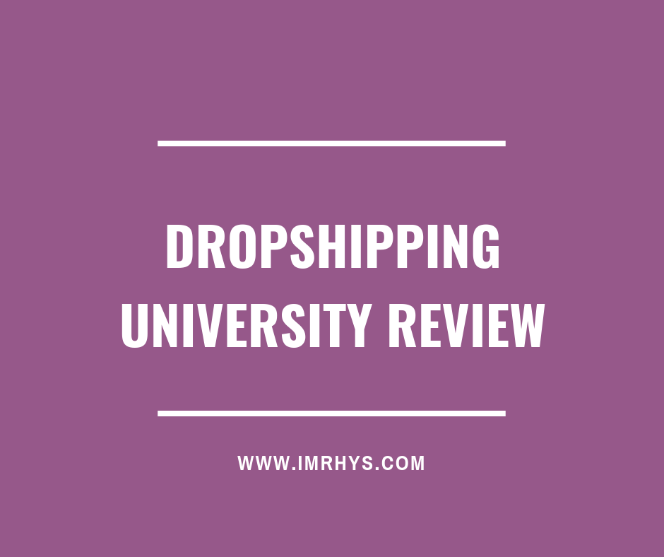 dropshipping university review