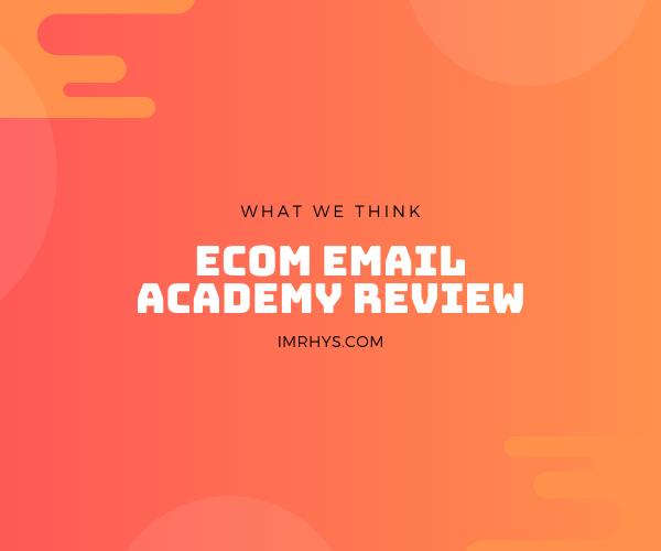 ecom email academy review