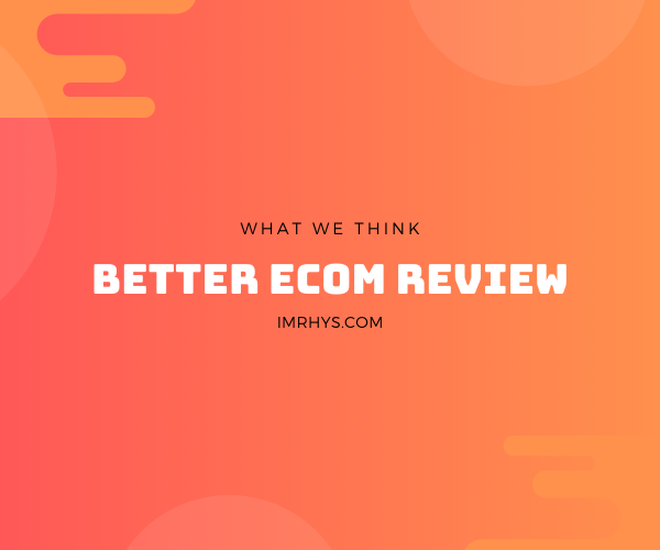 better ecom course review