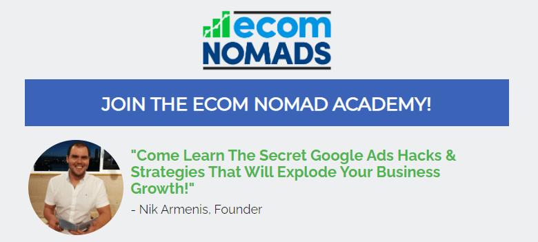 ecom nomads academy review